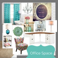 creative juices office space/ #inspirationboard