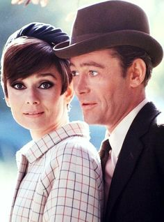 Audrey Hepburn and Peter O'Toole in How to Steal a Million, Paris, France, 1965