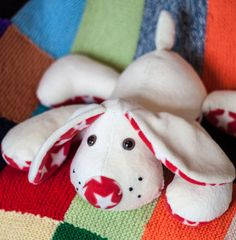 Plush Puppy Soft Toy made to order by EstherMouse on Etsy