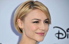 Short+Straight+Cuts | More Pics of Samaire Armstrong Short Straight Cut (3 of 6) - Short ...