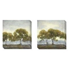 Shop for Gallery Direct Kim Coulter 'Oaks in the Mist' 2-piece Art Set. Get free delivery at Overstock.com - Your Online Art Gallery Destination! Get 5% in rewards with Club O!
