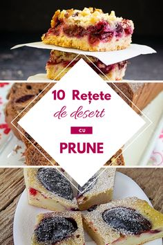 10 retete cu prune Caramel, Romanian Desserts, Cheesecake, No Cook Desserts, Food Platters, Food Cakes, Catering, Cake Recipes, Sweet Treats