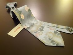 SUMMER Kenzo Teal Floral Original Made in Italy Silk Necktie BNWT, 38GBP, FREE SHIPPING WORLDWIDE!!!