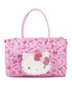 Fit for a queen, this Hello Kitty bag is perfect for overnight trips. Great 5c87cb50fe