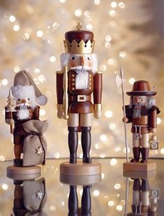 Santa nutcracker from Crate and Barrel
