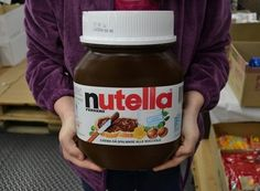 Giant Jar of Nutella