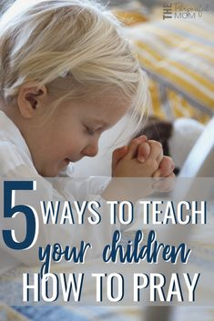 5 ways to teach your child how to pray 5 Ways to Teach Your Children How to Pray – These tips will show you to encourage your kids to talk to God through prayer! Parenting Books, Gentle Parenting, Kids And Parenting, Parenting Ideas, Lessons For Kids, Bible Lessons, Prayers For Children, Christian Kids, Christian Classroom