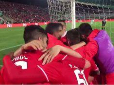 VÍDEO: a emoção dos jogadores do Benfica atrás da baliza do golo