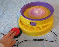 DIY battery operated toys to use a button