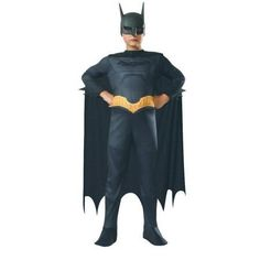Boys Beware The Batman Costume Size Medium 8-10, Boy's, Size: Medium (size 8-10), Multi
