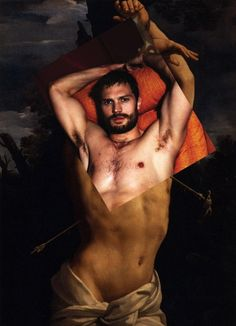 Jamie Dornan there are no words and then again there are many.  OMG