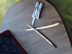 FINISHED!!!! Perfectly smooth, homemade, handmade, wooden knitting needles!!!!!