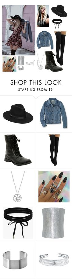 """Charred Roses"" by valaquenta ❤ liked on Polyvore featuring Lack of Color, L.L.Bean, Hot Topic, Pandora, Boohoo, Plukka, Maria Dorai Raj, Belk Silverworks and Bling Jewelry"