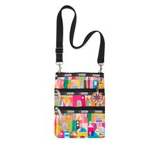 Disney It's a Small World Collection by LeSportsac - 2366 Kasey with Charm