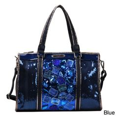 Nicole Lee 'Autumn Gemstone' Tote   Overstock.com Shopping - Great Deals on nicole lee Tote Bags