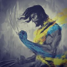 flavoredtape: Featuring The Amazing: @shimhaq98... flavoredtape:  Featuring The Amazing: @shimhaq98  #wip of a wolverine comm work #wolverine #marvel #xmen #digitalart Follow @shimhaq98 on Instagram for more awesomeness like this!