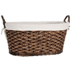 LaMont Tate Medium Laundry Basket with Natural liner - CT4690139