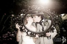 Inspired by Alice in Wonderland Theme  See the full wedding at http://www.butterstudios.ca