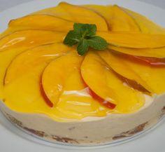 Torta Mousse de Manga