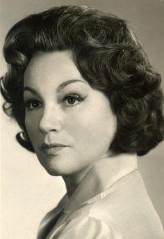 Adina Mandlová v polovině šedesátých let