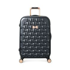 bd09b5d5f98f Ted Baker Small Beau 22-Inch Bow Embossed Four-Wheel Trolley ...
