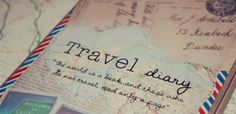 It's not just eating...!!: When I was a kid, I used to write travel diaries