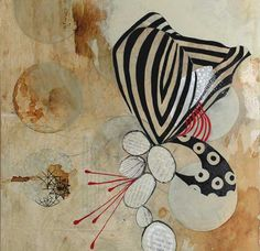patternprints journal: ABSTRACT PATTERNS IN LISA OCCHIPINTI FASCINATING PAINTINGS