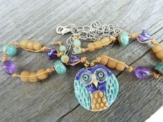 Lovely Owl Pendant by Spirited Earth