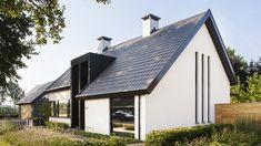 Projecten   van Houtum Architecten Erp Roof Design, House Design, Loft, Secret House, City Farm, Minimal Home, Solar House, Facade House, Style At Home