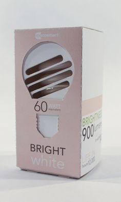Packaging of the World: Creative Package Design Archive and Gallery: EcoSmart Lightbulbs Redesign (Student Project)
