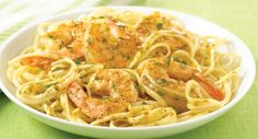 Shrimp Scampi like it's done in a restaurant -- garlicky and buttery, and served over linguine.