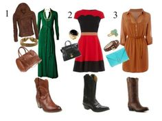 Beauty & Fragility: Dresses & Cowboy Boots