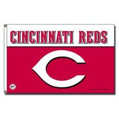 Cincinnati Reds MLB 3x5 Flag