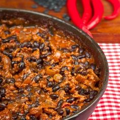 Gluten Free Recipes: Chili Con Carne with Black Soybeans - Shape Magazine
