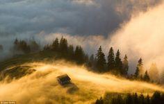 Golden fog: Rodna, Bistri¿a-N¿s¿ud, Romania