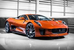 Jaguar and Land Rover revealed today some of the cars used for filming the new James Bond movie, called Spectr. Maserati, Bugatti, Lamborghini, Ferrari, Luxury Car Brands, Top Luxury Cars, Carros Jaguar, Super Cars Images, Car Images