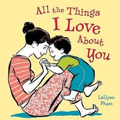 "There are oh so many things... But most of all, she just loves him, no matter what.  Bestselling author & illustrator LeUyen Pham combines her experience as a mother & her storytelling skills in a love letter of a book. Mama lists the reasons: the way his hair sticks up in the morning, the way he says ""Mama""  & the way he laughs. This book tells of the unconditional love between a mother & her child. Children & parents alike will treasure this heartwarming book!"