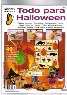 Revistas de Fieltro gratis: Revista halloween gratis
