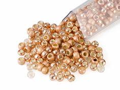 Artbeads Copper Peach Designer Blend, TOHO 8/0 Round Seed Beads