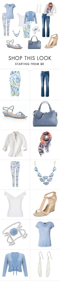 """""""Weekend away #953"""" by highheelsandhotflashes ❤ liked on Polyvore featuring New Look, Diesel, Talbots, Kelly & Katie, Michael Kors, NIC+ZOE, Armani Jeans, Seychelles, Vince Camuto and Paige Denim"""