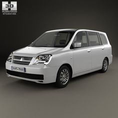 Mitsubishi Dion 2000 3d model from humster3d.com
