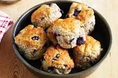Blueberry scones and a nice cup of tea is the perfect way to spend the afternoon.