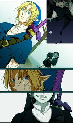 Y pensabas que lo habias derrotado y dejado atrás... #Link vs Shadow Link