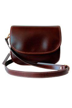 Bandolera color cuero en shopping de Telva.com