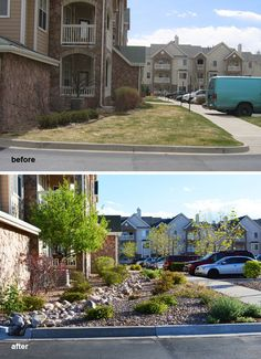 A water saving landscape renovation