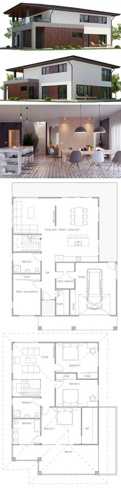 Modern Container House Plan