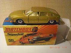 Matchbox no 56 pinifarina --1971
