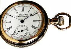 #W5B Waltham Ladies Antique 14K Gold Filled Pocket or Pendant Watch 6 Size 11 Jewels Hunter Case Ca 1893 $350.00