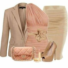 Sophisticated neutrual look outfit