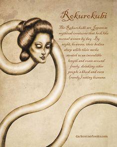 Des effrayantes créatures mythologiques méconnues par Bruno Santos Dessein de dessin